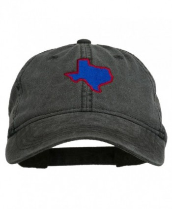 Texas State Embroidered Washed Cotton