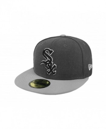 New Era 59Fifty Hat MLB Chicago White Sox Shader Melt 2 Charcoal/Gray Cap - CX12N09087V