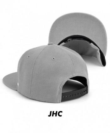 JHC Structured Adjustable Snapback Baseball