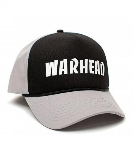 WARHEAD Dimebag Darrell Unisex Adult One-Size Gray/Black Snapback Hat Cap - C912FN9K7A1