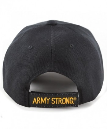HAT DEPOT 1100 Military Licensed in Men's Baseball Caps