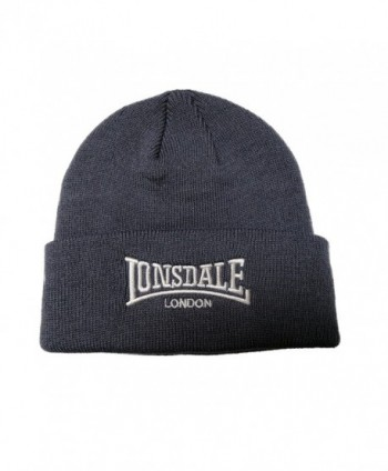 Lonsdale Men%C2%B4s Beanie Embrioded Logo