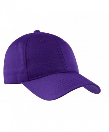 Sport-Tek Boys' Dry Zone Nylon Cap - Purple - CM11QDSPE5V