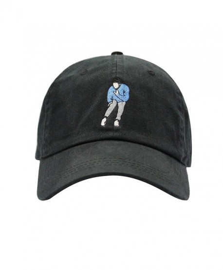 Hotline Bling Dad Hat Cotton Baseball Cap Polo Style Low Profile 5 Colors - Black - CH185S09XKK