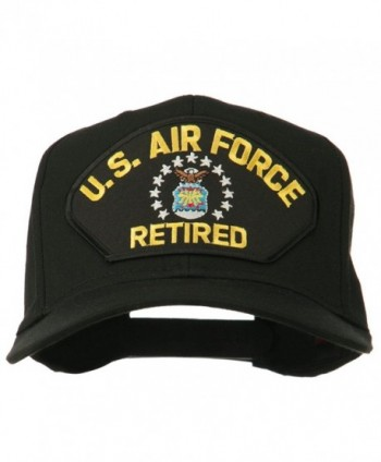 E4hats Force Retired Military Patched