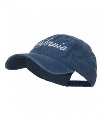 E4hats California Embroidered Washed Cap