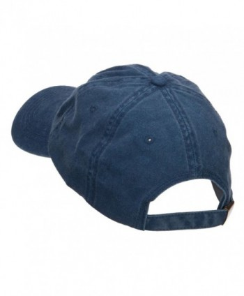 E4hats California Embroidered Washed Cap in Men's Baseball Caps