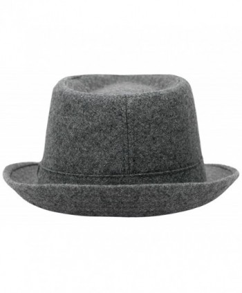 Lullaby Unisex Classic Manhattan Gangster in Men's Fedoras