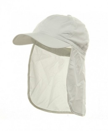 Flap Hats (02)-White W15S50F - CL111CSPDGR