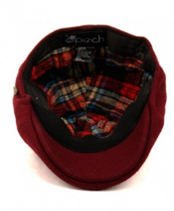 Blend Newsboy Duckbill Driving BURGUNDY in Men's Newsboy Caps