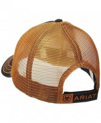 Ariat Mens Orange Mesh Size