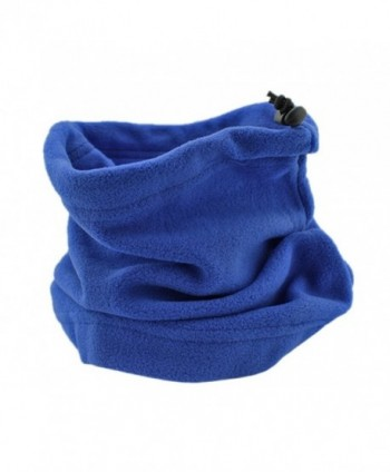BONAMART Winter Fleece Neck Warmers Snood Scarf Mask Hat Sport Outdoor - Sapphire - CU11IKL59FT