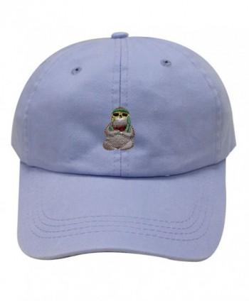City Hunter C104 Sloth Cotton Baseball Dad Caps 26 Colors - Sky - CY1846KN0LE