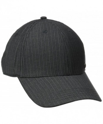 Haggar Men's Core Suit Baseball Cap - Charcoal - C211N2INDBR