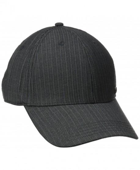 ea60fd0214c Haggar Men s Core Suit Baseball Cap - Charcoal - C211N2INDBR