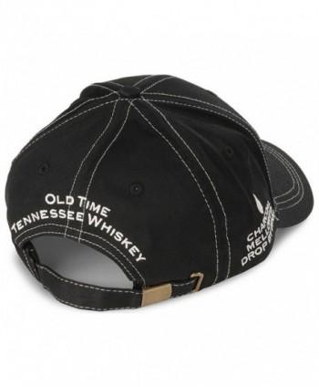 Jack Daniels Mens Logo Black in Men's Baseball Caps