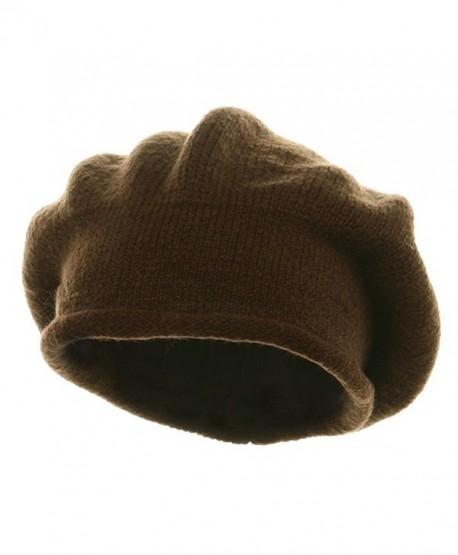 New Rasta Beanie Hat - Brown (For Big Head) - C1112KUC599