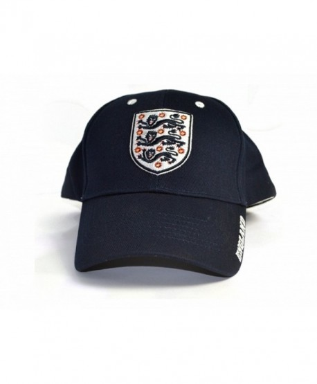 England Official Soccer Deluxe Baseball Cap - Navy - CF183K90TYL