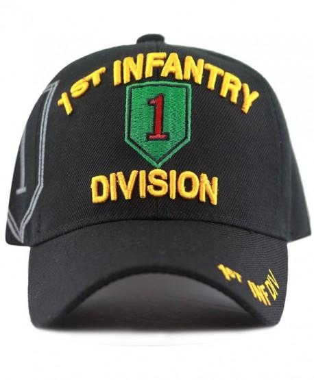 The Hat Depot Official Licensed Infantry Logo Cap - Black - CO1863K5ZQY