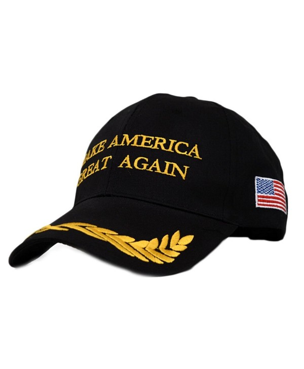 Dutch Brook Make America Great Again Donald Trump 2016 Campaign Cap Hat - Black - C612MZ28745