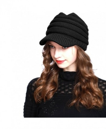 c04f603f134 BV2311 Cable Ribbed Knit Beanie Hat w  Visor Brim - Chunky Winter Skully Cap  -  BV2311 Cable Ribbed Beanie Visor  BV2311 Cable Ribbed Beanie Visor in ...