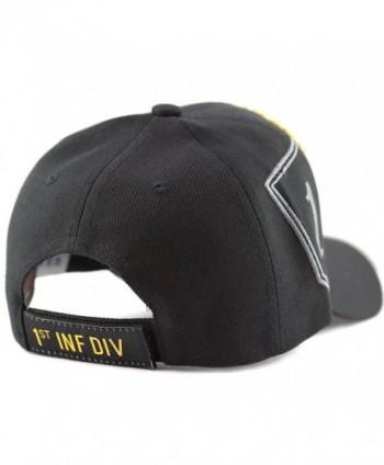 Depot Official Licensed Infantry Black 1st in Men's Baseball Caps