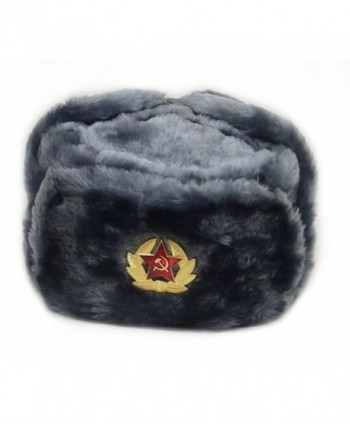 Hat Russian Soviet Army KGB * Fur Military Cossack Ushanka GRAY* Size S (metric 56) - C311ITS90W1