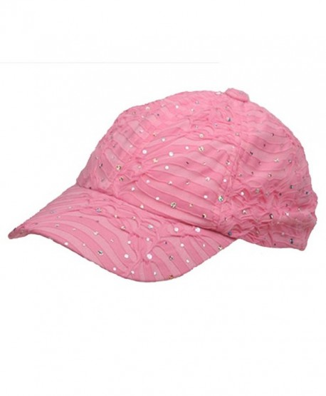 Glitter Caps-Pink OSFM - C412JH1ZQ2B