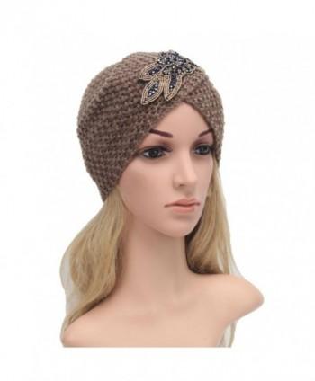 Vcenty Womens Braided Turban Headdress
