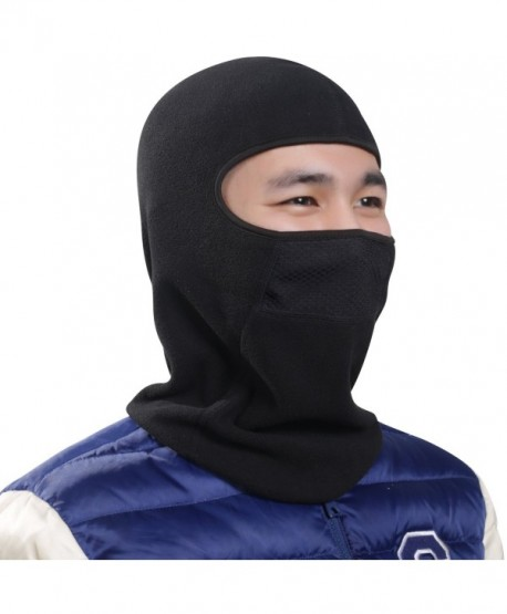 THINDUST Balaclava Windproof Snowboarding Motorcycling - Black - CP189MW879H