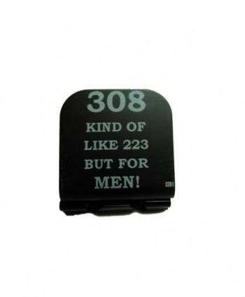 308 Kind Of Like 223 But For Men Laser Etched Hat Clip Black - CL128J10R3D