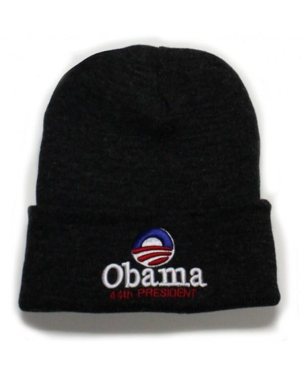City Hunter Skiobm Obama Ski Hat - Black - CF11B92DCHX