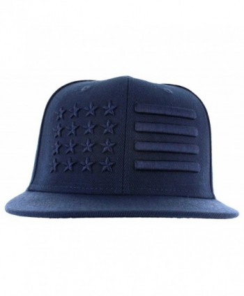 American Flag Hat Super Tone Collection Caps Memorial DayHat - Navy Power - CI17AAOQLAE