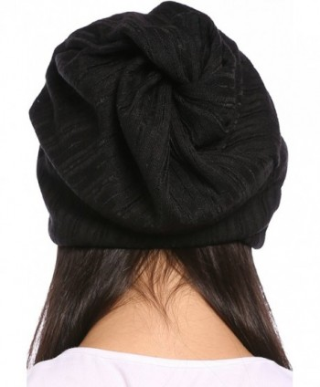 Ababalaya Breathable Knitted Pregnant Nightcap