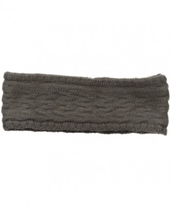 Echo Women's Braid Stitch Headband - Gunmetal - CY12F8SP3UH