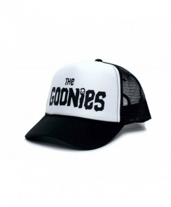 Goonies Unisex-Adult One-Size Black/White Trucker Hat - CT11VRX3EK9