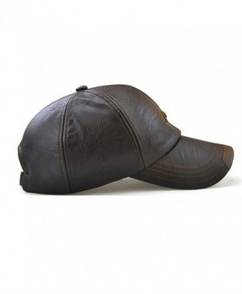 King Star Leather Adjustable Baseball in Men's Baseball Caps