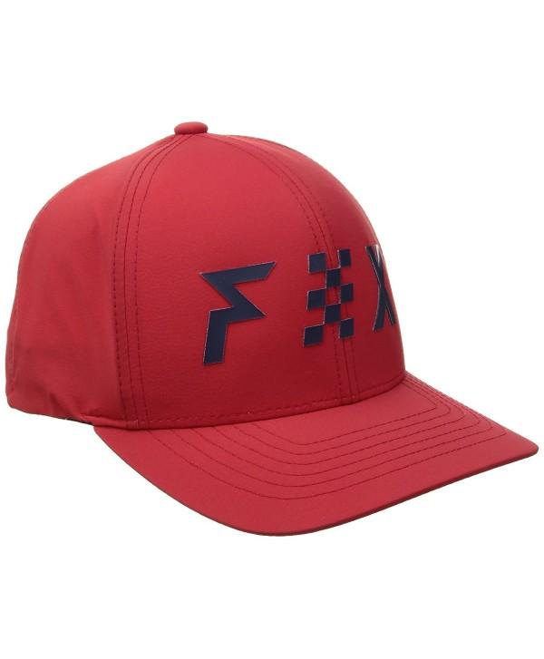Fox Men's 74 110 Snapback - Red - C317YRSX974