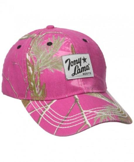 Tony Lama Men's Hot Pink Rtree - Real Tree Hot Pink - CZ12E9BKFJD