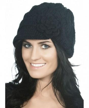 Simplicity Womens Winter Beanie 1128_Black