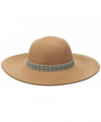 Volcom Juniors Free N Wild Fedora Hat - Bear Brown - CC12C6IKTE7