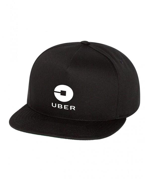 Uber Driver New Logo Snapback Hat Cap Adjustable New - Black - C1187GLG3L8