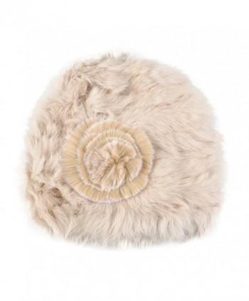 Kenmont Autumn Winter Rabbit Beanie in Women's Skullies & Beanies