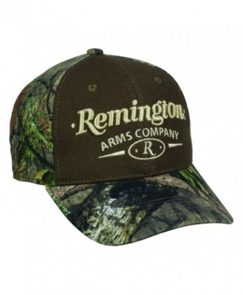 Remington Arms Company Mossy Oak Break Up Country Brown and Tan Camo Cap Hat 158- One Size Fits Most - CD17Z6MUSQD