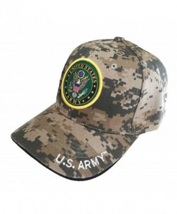 Aesthetinc Military Officially Licensed Camouflage in Men's Baseball Caps