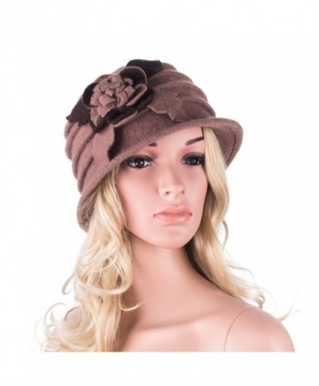 Lawliet Womens Floral Winter Beanie in Women's Berets