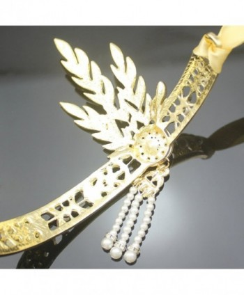 Plated Flapper Bridal Inspired Downton in  Women's Headbands in  Women's Hats & Caps