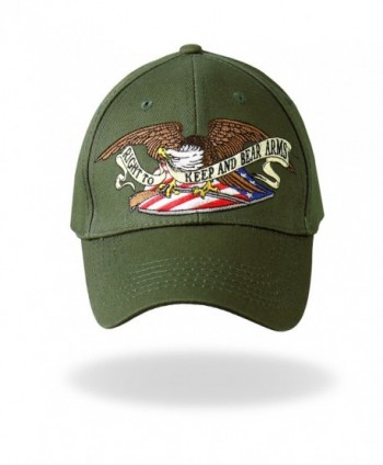 Hot Leathers Right Military Green in Men's Baseball Caps