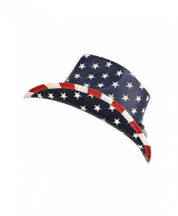 Luxury Divas American Patriotic Cowboy in Women's Cowboy Hats