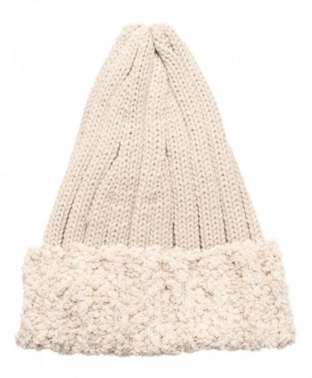MIRMARU Womens Winter Knitted Pointy